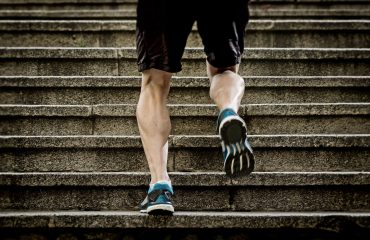 Running Up The Stairs Would Have Been Impossible Before Weight Loss